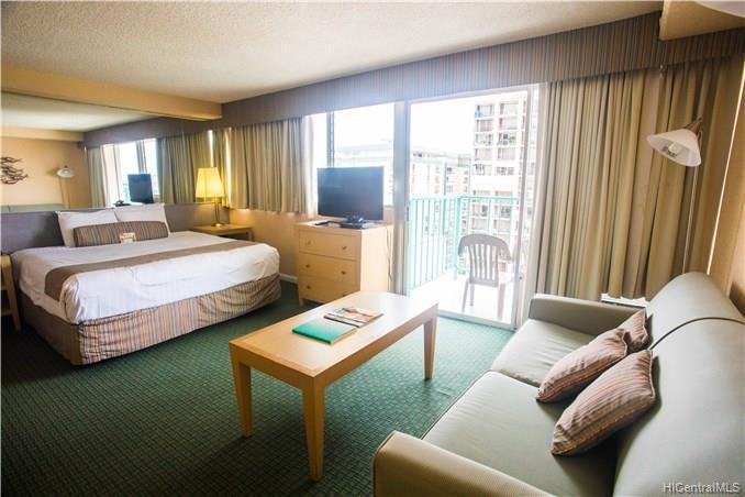 Aloha Surf Hotel condo #1509, Honolulu, Hawaii - photo 1 of 24