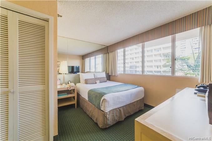 Aloha Surf Hotel condo #300, Honolulu, Hawaii - photo 1 of 14