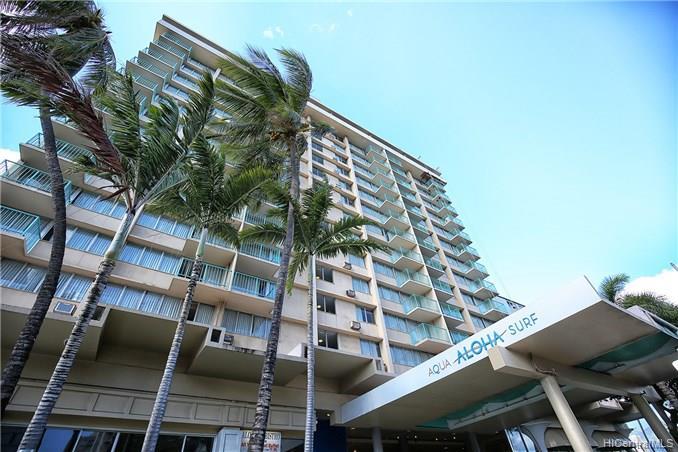 Aloha Surf Hotel condo #314, Honolulu, Hawaii - photo 1 of 12