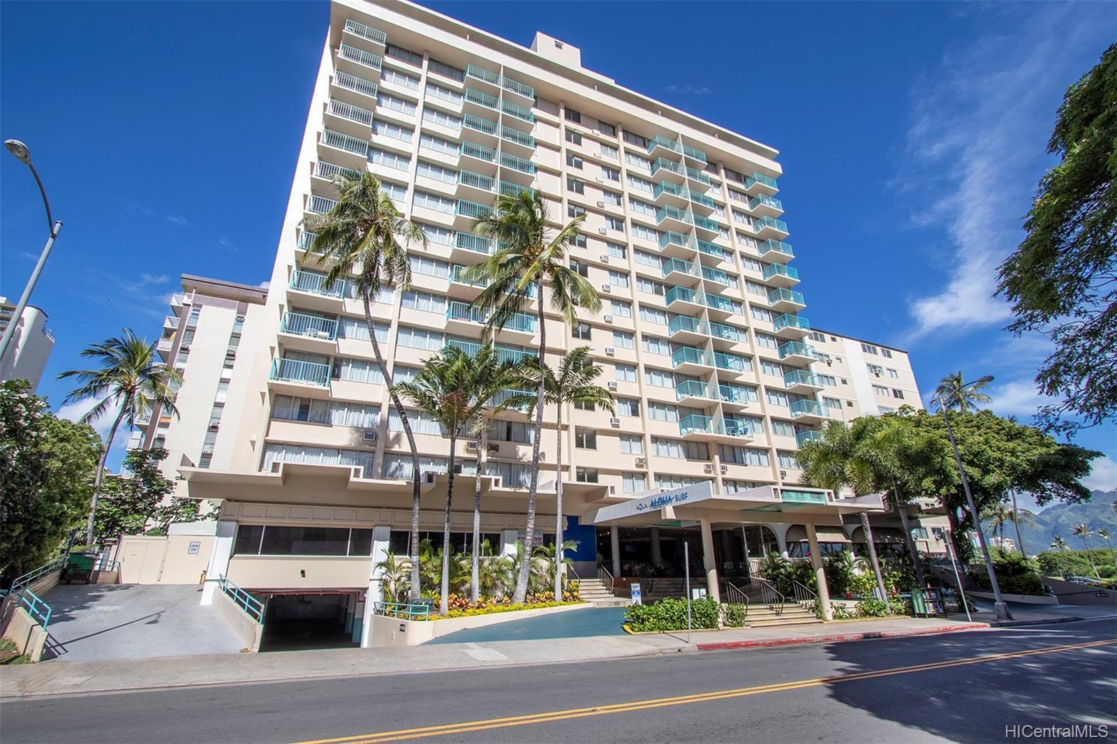 Aloha Surf Hotel condo #508, Honolulu, Hawaii - photo 1 of 18