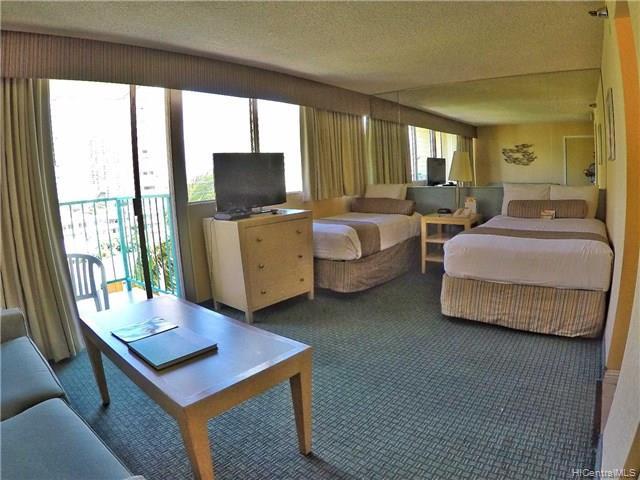 Aloha Surf Hotel condo #601, Honolulu, Hawaii - photo 1 of 7