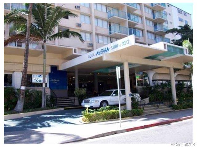 Aloha Surf Hotel condo #604, Honolulu, Hawaii - photo 1 of 7