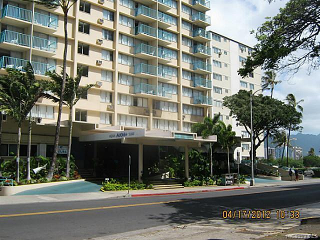 Aloha Surf Hotel condo #707, Honolulu, Hawaii - photo 1 of 13