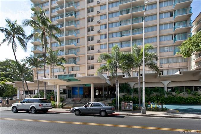 Aloha Surf Hotel condo #813, Honolulu, Hawaii - photo 1 of 10