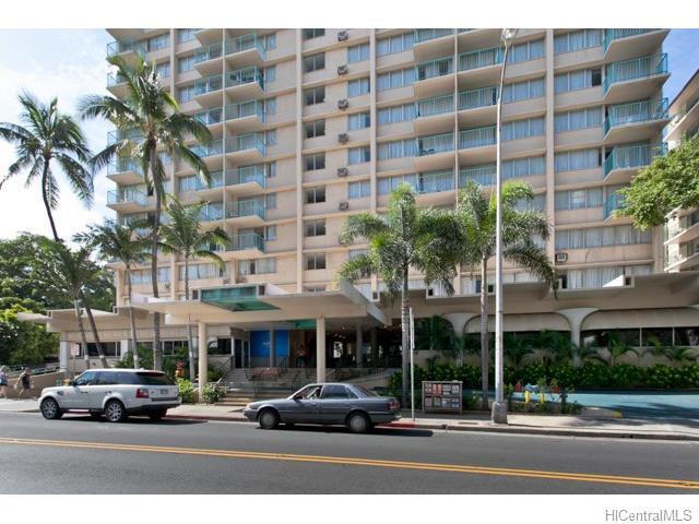Aloha Surf Hotel condo #910, Honolulu, Hawaii - photo 1 of 14