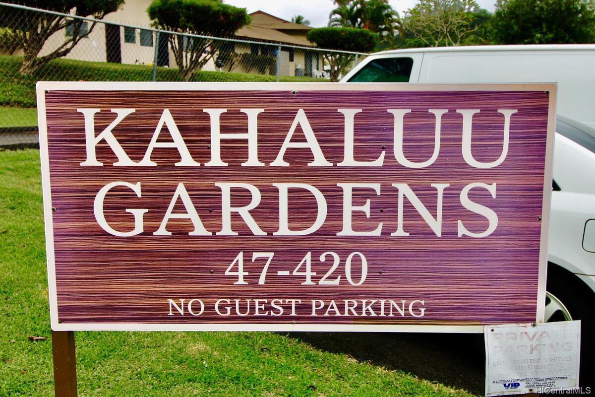 Kahaluu Gardens condo # B101, Kaneohe, Hawaii - photo 2 of 16