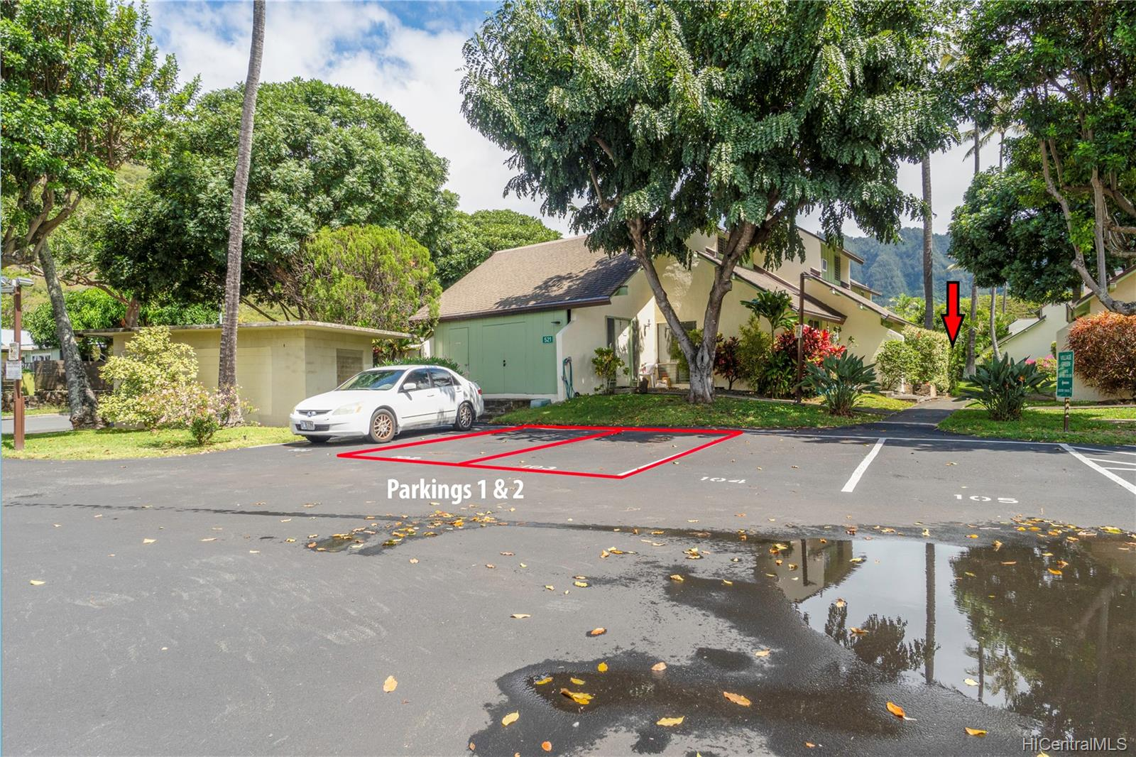 Village Green condo # 16A, Honolulu, Hawaii - photo 20 of 25