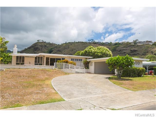 5350  Papai St Aina Haina Area, Diamond Head home - photo 1 of 24