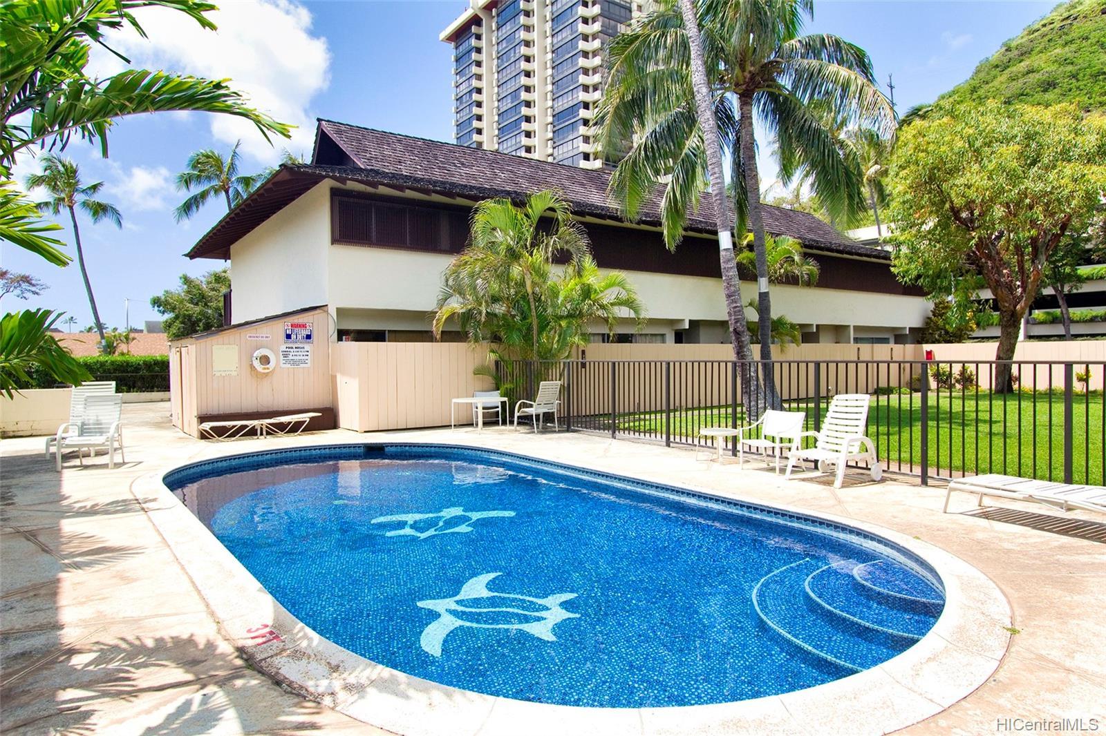 6225 Kawaihae Place townhouse # C101, Honolulu, Hawaii - photo 23 of 25
