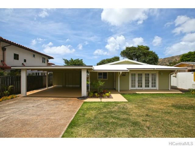 6641  Kalopa St Hahaione-lower, Honolulu home - photo 1 of 23