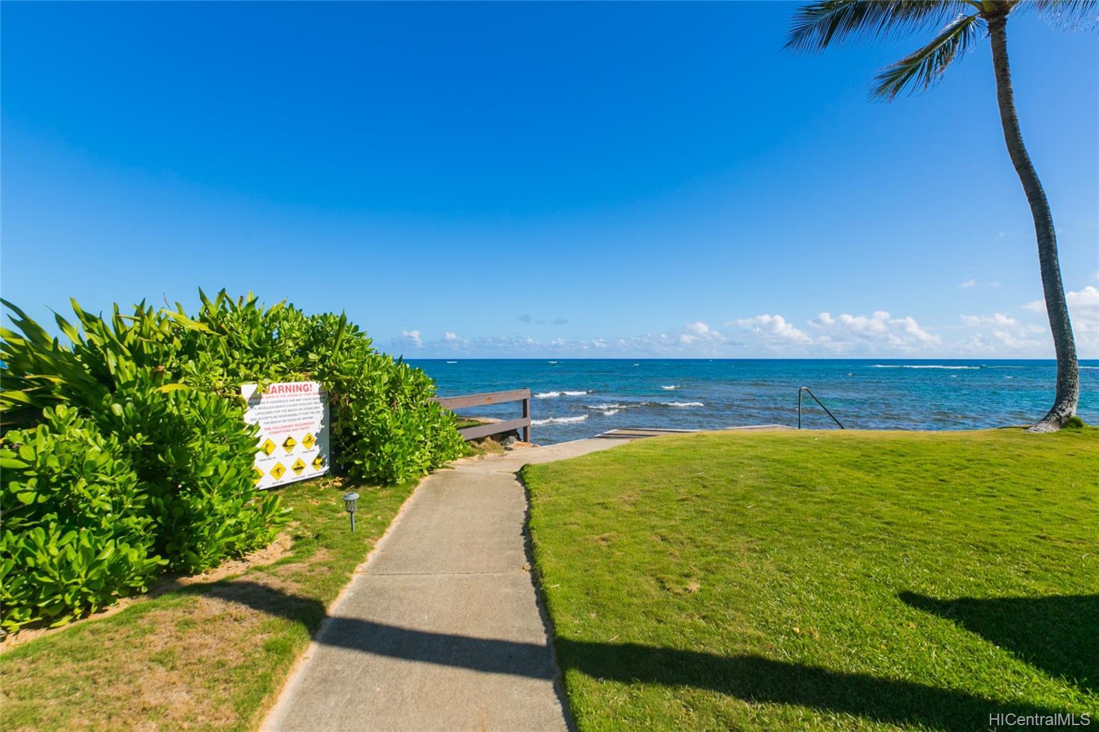 Mokuleia Beach Colony condo # 1B, Waialua, Hawaii - photo 24 of 25