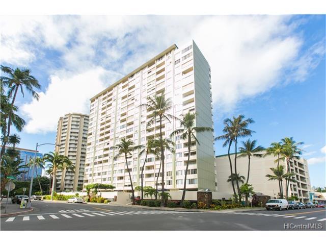 Woodrose condo #1705, Honolulu, Hawaii - photo 0 of 20