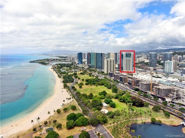 Hawaiki Tower condo # 1603, Honolulu, Hawaii - photo 25 of 25