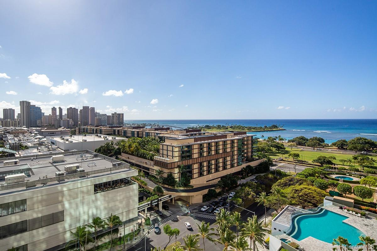 Hawaiki Tower condo # 1706, Honolulu, Hawaii - photo 12 of 17
