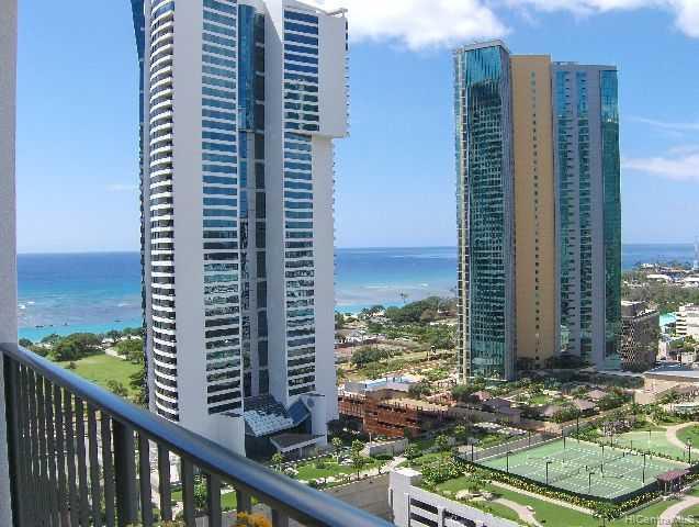 Hawaiki Tower condo # 2202, Honolulu, Hawaii - photo 1 of 10
