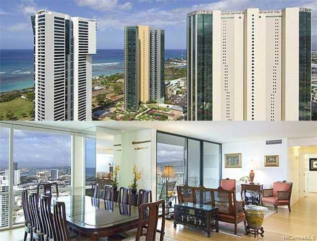 Hawaiki Tower condo # 3601+02, Honolulu, Hawaii - photo 1 of 10