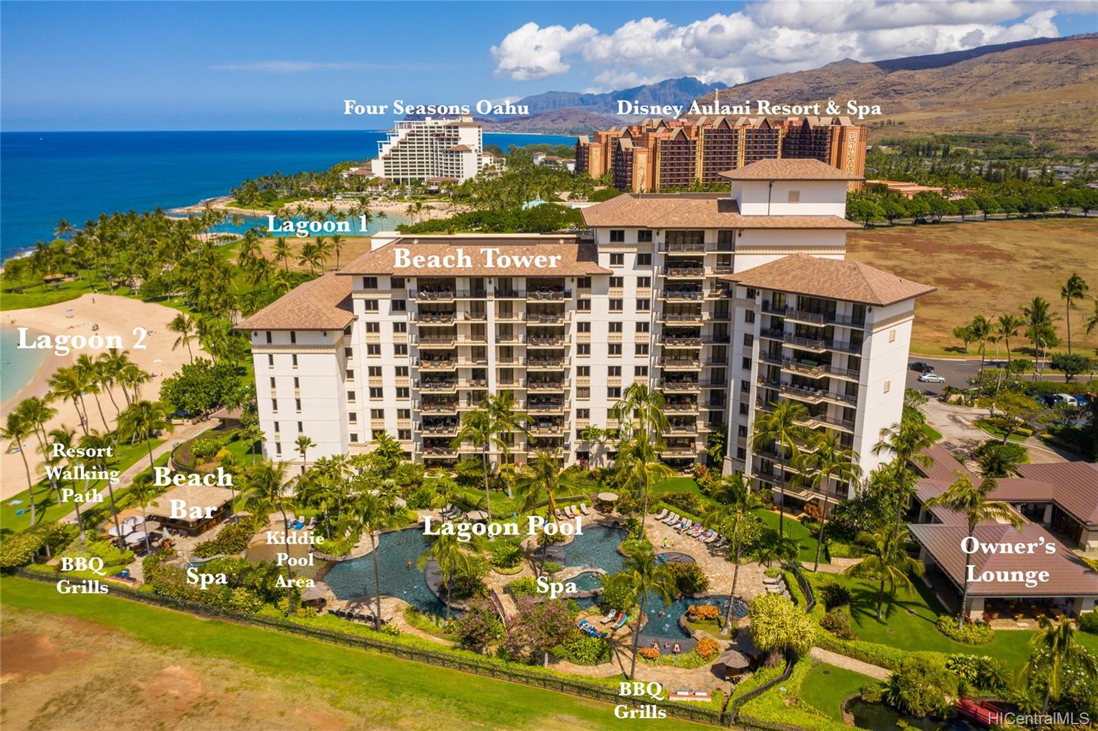BeachVillas@Ko Olina condo # O-321, Kapolei, Hawaii - photo 23 of 25