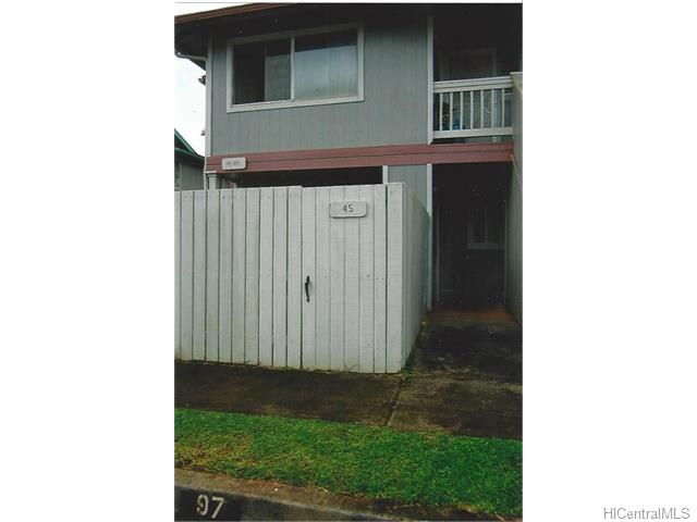 MTA townhouse # 45, Mililani, Hawaii - photo 2 of 9
