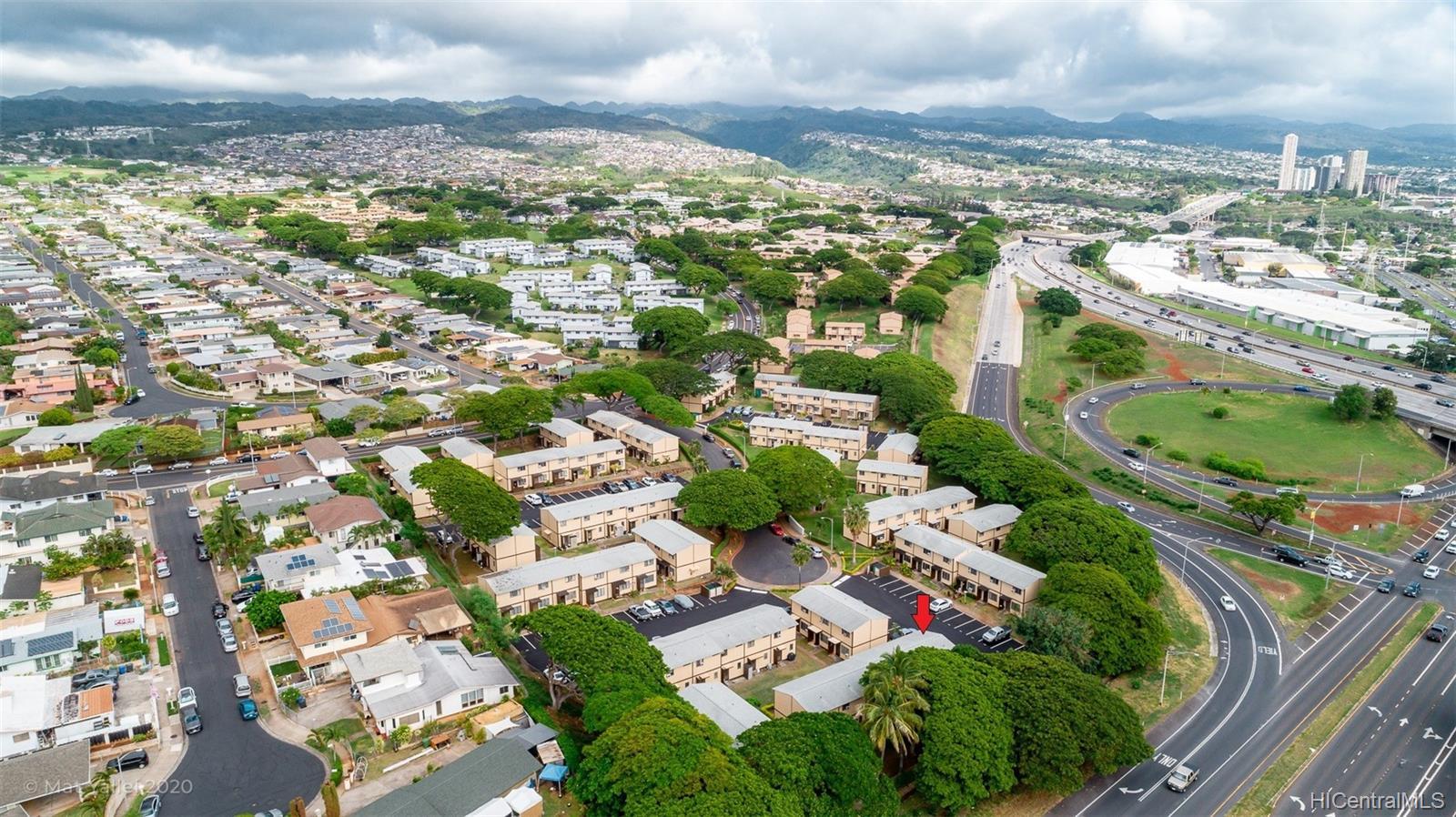 98-1269 A Hoohiki Place townhouse # 49, Pearl City, Hawaii - photo 24 of 25
