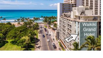 Waikiki Grand Hotel condo # 716, Honolulu, Hawaii - photo 1 of 22