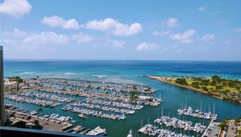 Yacht Harbor Towers condo # 710, Honolulu, Hawaii - photo 1 of 12