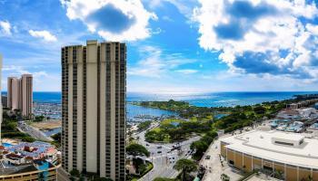 Yacht Harbor Towers condo # 501, Honolulu, Hawaii - photo 1 of 23