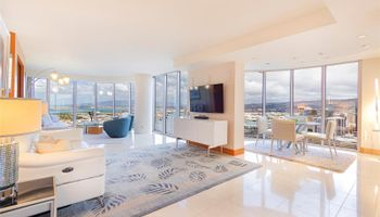 One Waterfront Tower condo # Makai 4104, Honolulu, Hawaii - photo 1 of 25