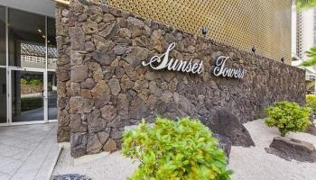 Sunset Towers condo #1204, Honolulu, Hawaii - photo 1 of 16